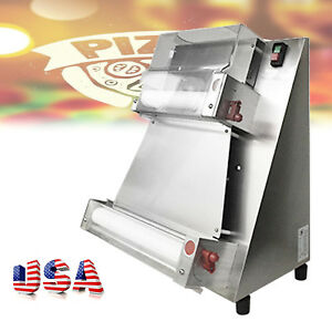 100 Warranty Auto Pizza Bread Dough Roller Sheeter Machine Pizza Making Machine