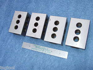 Parallels Blocks 4 1 x2 x3 Machinist Toolmaker Inspection Grinder Mill Qa