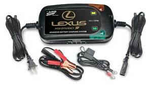 Lexus Battery Tender Deltran Advanced Battery Charging System
