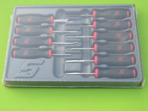 New Snap On Sgtt110 10 Piece Red Black Soft Grip Terminal Release Tool Set