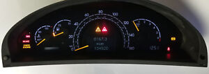 Mercedes S500 S430 S350 1998 To 2006 Cluster Software Odometer Calibration