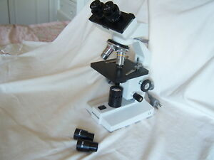 Amscope Illuminator Wf10x 20x Microscope Lab Research Medical Light