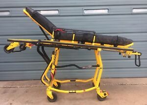 Stryker Ez Pro R4 650 Lbs Model 6092 Capacity Ambulance Cot Stretcher