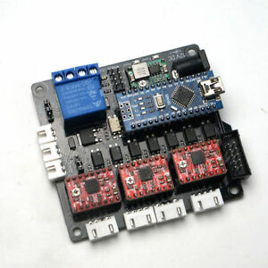 Laser Cnc 3 Axis Controller Board Engraving Machine Stepper Motor Usb Cd