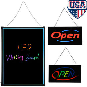 Animated Diy Led Lighted Business Sign Open Neon Cafe Shop Bar Display Light Us