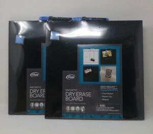 Bundle Of Two Magnetic Dry Erase Boards