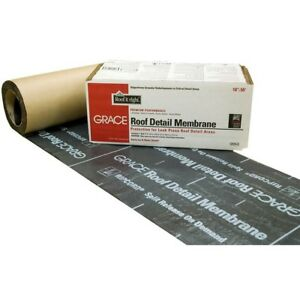 Grace Roll Roofing Underlayment Roof Detail Membrane Gcp Applied Technologies