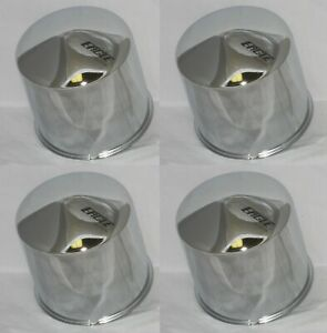 4 Eagle Alloys Chrome Dome Bullet Fits 4 25 Bore Wheel Rim Center Cap 3199 06