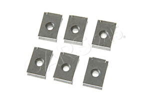 Genuine Mounting Clip Nut X6 Pcs Bmw Mini Rolls royce Bmw I Alpina 51127070202