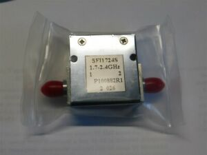 Fairview Microwave Sfi1742s Isolator Sma Female 18 Db Isolation 1 7 2 4ghz 10w