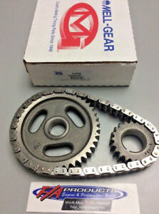 Ford Y Block 272 292 312 And Straight 6 Engines Timing Set stock Melling 3 344s