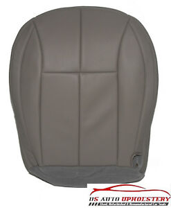 1999 2004 Jeep Grand Cherokee Driver Bottom Synthetic Leather Seat Cover Gray