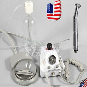 Dental Portable Turbine Unit Work W Compressor High Speed Handpiece 4h Usa M3