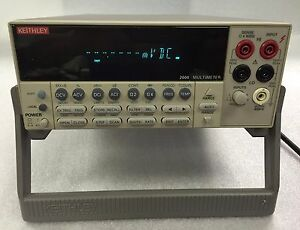 Keithley 2000 6 1 2 Digital Multimeter 7 Seller Refurbished 6 Mon Warranty