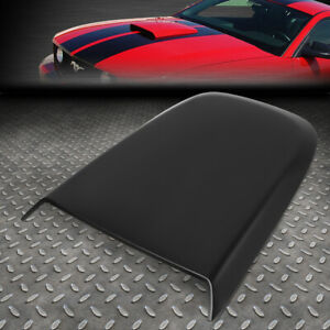 For 05 09 Ford Mustang Lightweight Racing Air Flow Intake Hood Scoop Vent Cover Fits 2005 Ford Mustang