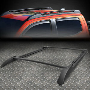 For 05 18 Toyota Tacoma Double Cab Crew Abs Oe Style Roof Side Rail Cross Bar