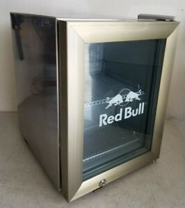 local Pickup Only Red Bull Counter Top Small Mini Fridge Refrigerator works