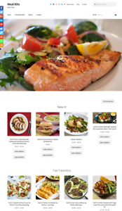 Meal Kits Website Business For Sale