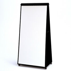 Mobile Easel Whiteboard Tack Bulletin Board Steelcase Groupwork 6 X 3 Vg Cond