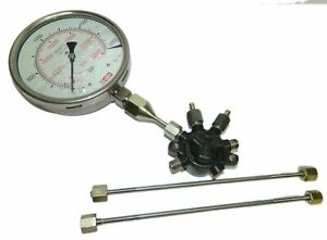 Common Fuel Rail With 2000 Bar High Pressure Gauge High Pr Pipes