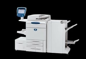 Xerox Docucolor 242 Mfp Printer Color Copier Scan Production Machine