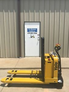 2008 Yale Electric Pallet Jack Model Mpw050 Forklift Walkie Only 3446 Hours
