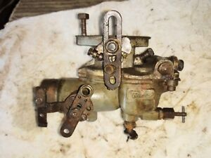 Allis Chalmers Wc Wd Tractor Carburetor Zenith 12544
