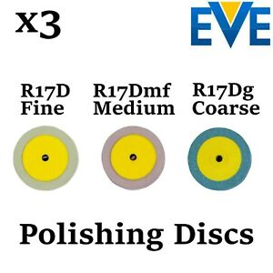 X3 Dental Eve Diapol Polishing Discs Disks Polish Ceramic Porcelain Diamond