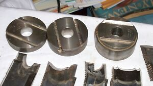 13 Pr Woodworking Shaper Blades With Cutter Head 3 4 Bore