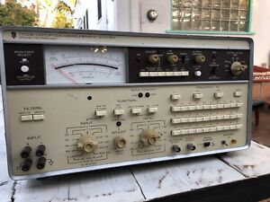 Vintage St 1700b Distortion Measurement System Sound Technology