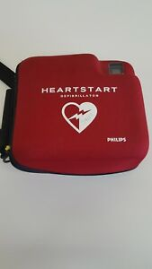 Philips Fr2 Heartstart New Pads Good Battery Plus A Extra Battery And Case