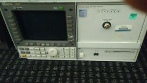 Hp Agilent Keysight 70004a 70952b Optical Spectrum Analyzer 600 1700nm