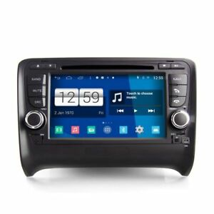 Android 4 4 In Dash Car Gps Navigation Dvd Radio Wifi For Audi Tt 2006 2013