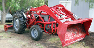 1955 Ford 800 Tractor Front End Loader Tilt Box Gannon With Rippers