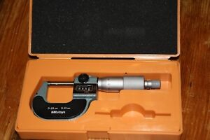Mitutoyo 193 101 0 To 25 Mm Digital Counter Micrometer 0 01mm