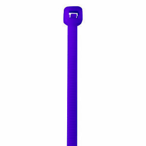 Box Partners Colored Cable Ties 40 5 1 2 Purple 1000 case Ct433e