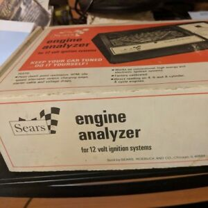 Sears Engine Analyzer For 12 Volt Ignition Systems