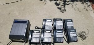 Nec Ds2000 Dx7na 48m W Intramail Music On Hold 7 Handsets two Wall Mounts