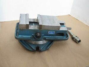 Kurt D40 Milling Vise Kurt Anglock With Swivel Base Usa Excellent Condition