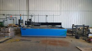 2010 Techni Intech 612 Cnc Waterjet Cutting Ref 7795640