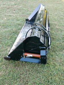 Farm Service 80 Skid Steer High Lift Roll Out Front Dump Bucket Can Ship Cheap