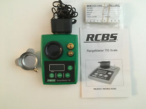 RCBS RangeMaster 750 Electronic Reloading Powder Scale ACDC power