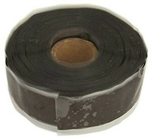 Tracpipe Fgp 915 10h 12bl 1 X 12 Yd Black Silicone Rubber Pipe Protection Tape