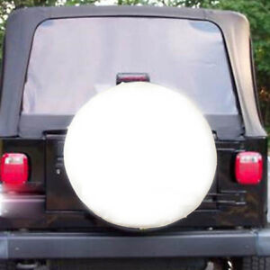 White Spare Tire Tyre Cover Case Protector 30 31 L For Benz G500 2005 2008