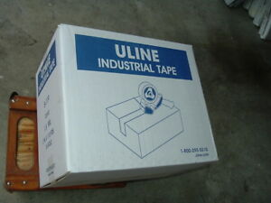 Industrial Packing Tape 2 X 110 Yards 1 8 Mil Clear 36 Rolls Sealed Uline S 119