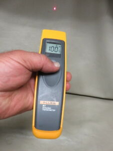 Fluke 61 Infrared Digital Thermometer Ir Laser Thermometer For Hvac Look