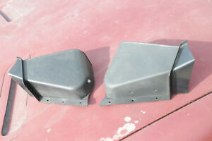 Triumph Tr7 Tr8 Factory Convertible Top Frame Stow Away Finisher One Pair