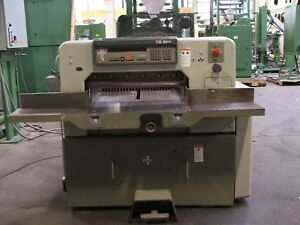 30 Polar Mohr Model 76em Guillotine Cutter Reference 231510