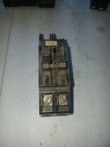 Zinsco 100 Amp 2 Pole Main Breaker Qcal
