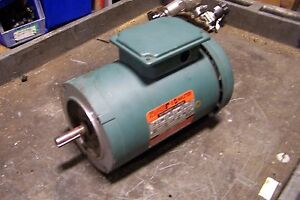 Reliance 1 5 Hp Electric Ac Motor 208 Vac 1725 Rpm Fj56c Frame 3 Phase
